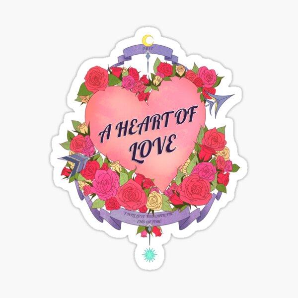 A Heart of Love Sticker