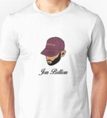Jon Bellion face beautiful mind with text T-Shirt