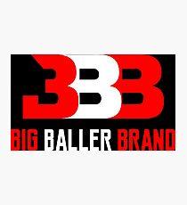 the baller brand Photographic Print