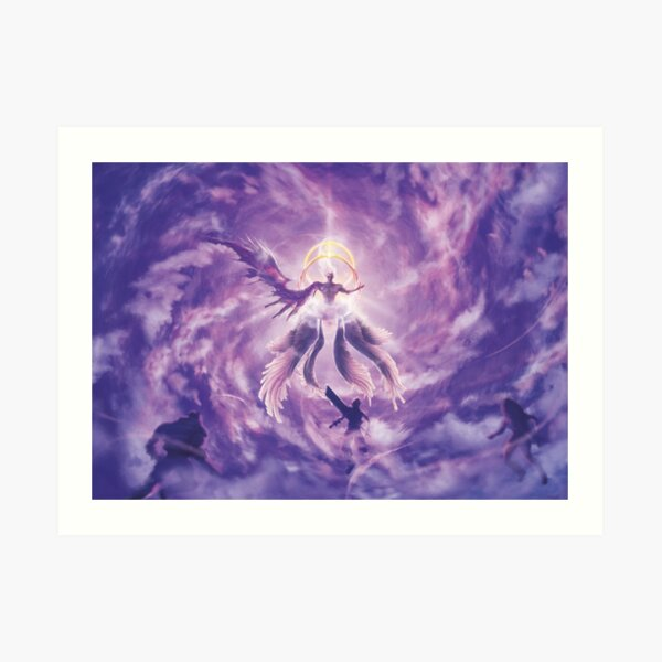 One Winged Angel (2nd edition - Only 50 prints!) Art Print