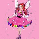Ruby The Ribbon Fairy by TeelieTurner