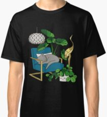 Cat nap by Elebea Classic T-Shirt