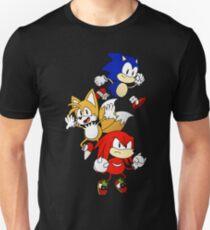 Sonic Mania Trio [Color ver.] T-Shirt