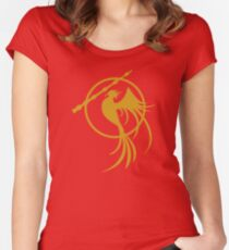 Catching Phoenix Women's Fitted Scoop T-Shirt