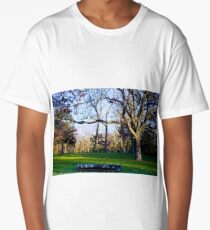 Tree Overhang Long T-Shirt