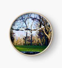 Tree Overhang Clock