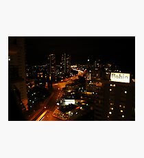 Surfers Paradise at night! Photographic Print