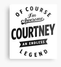 Courtney Metal Print