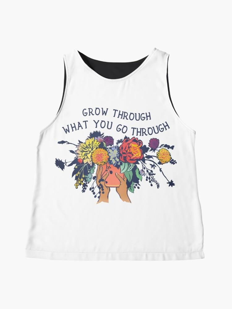 Alternate view of Grow Through What You Go Through Sleeveless Top