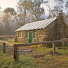 High Country Hut by Richard  Windeyer