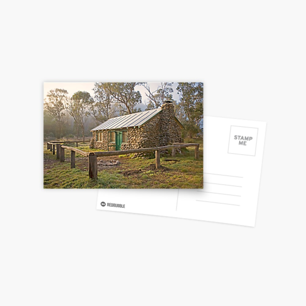 High Country Hut Postcard