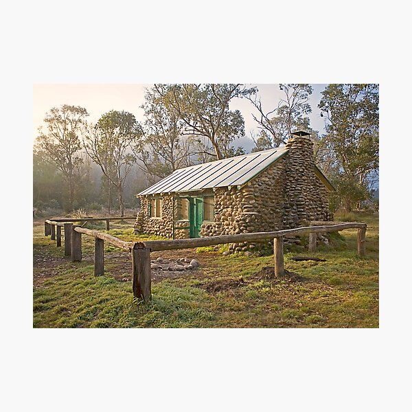 High Country Hut Photographic Print