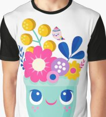 Bloom Where You Are Planted Graphic T-Shirt