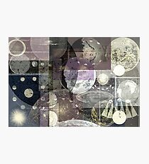 Astronomy Collage Photographic Print