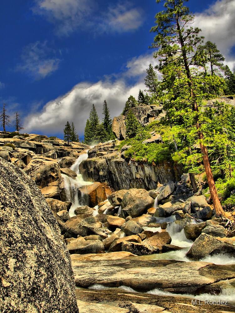 Bassi Falls by M L Rondez