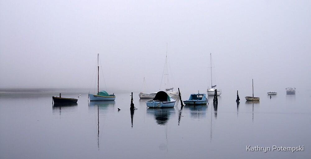 Fog Over The Bay by Kathryn Potempski