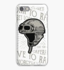 Born to Race, Live to Race iPhone Case/Skin