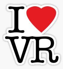 I love vr - virtual reality Sticker