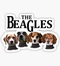 The Beagles Funny Collection Sticker