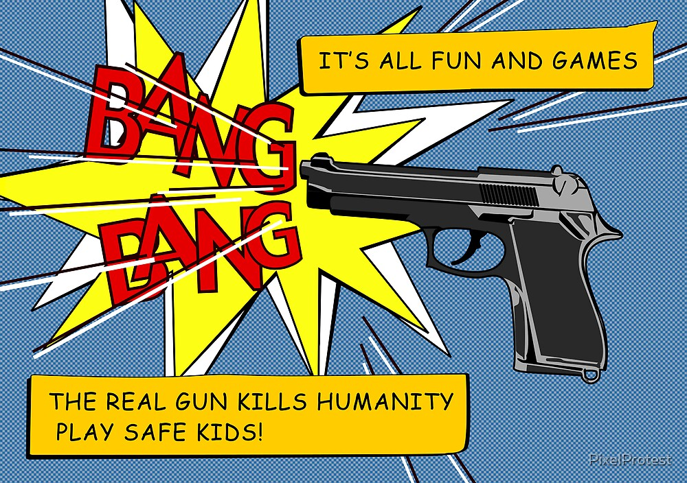 play safe kids! by PixelProtest