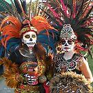 Aztec Dancers by Rita  H. Ireland