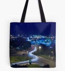 Traffic trails Tote Bag