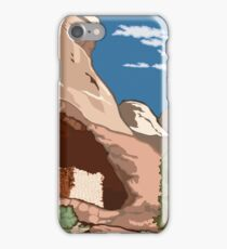 Vintage Travel Poster – Canyons of the Ancients National Monument iPhone Case/Skin