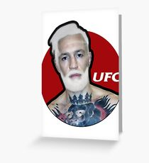 UFC Greeting Card