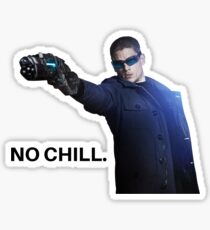 No Chill - Captain Cold Sticker