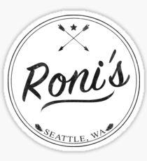OUAT | Roni's Bar Sticker