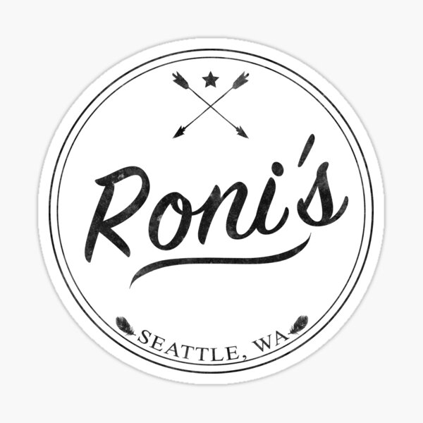 OUAT | Roni's Bar Sticker