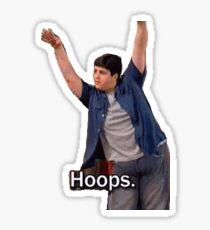 hoops Sticker