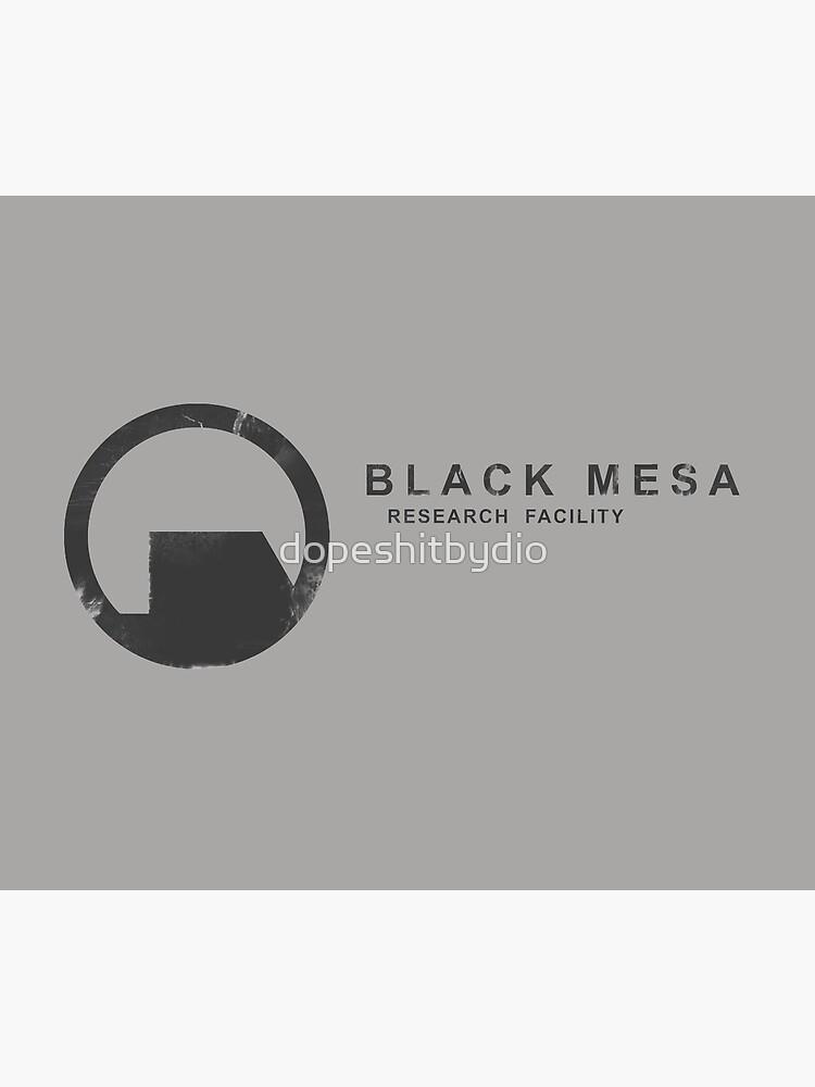 Black Mesa Research Facility by dopeshitbydio