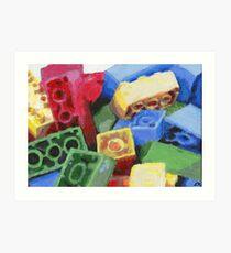 Legos Art Print
