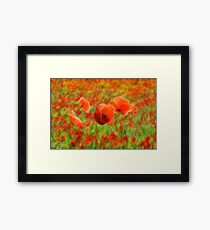 In Flanders Fields Framed Print