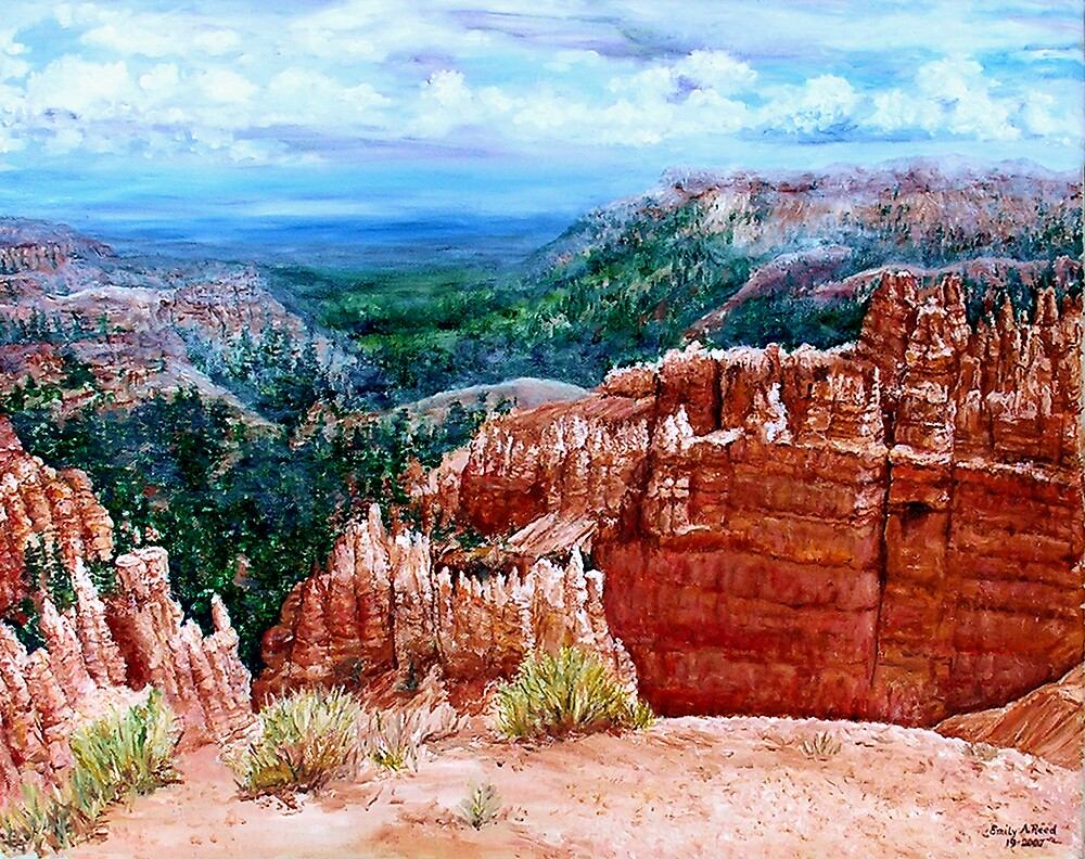 Bryce Canyon by Emily Reed