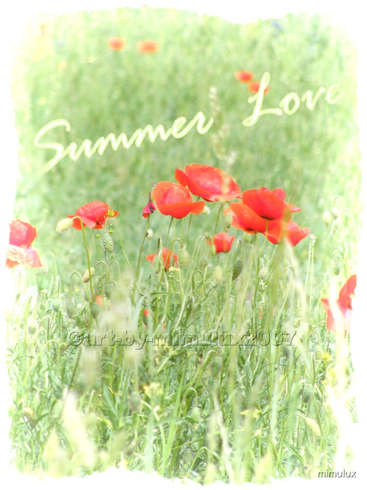 Summer Love by mimulux