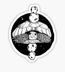 Astro Tortoise Sticker