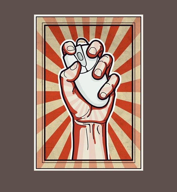 Online Activist by rubyred