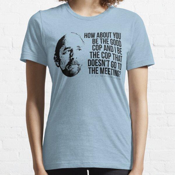 """Toby Ziegler """"Good Cop/No Cop"""" Tee Essential T-Shirt"""