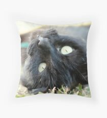 Hello breakfast Throw Pillow