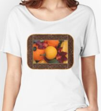 Pumpkins, Gourds and Maple Leaves Women's Relaxed Fit T-Shirt