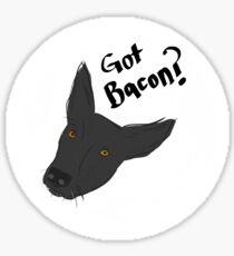 Got Bacon? Sticker