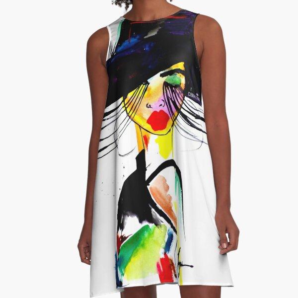 BADDIE A-Line Dress
