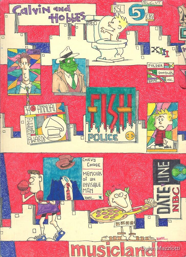 Folder 013 - Front by Dylan Mazziotti