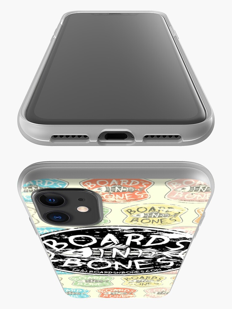 Alternate view of BoardsNBones Distressed Look Logo Phone Case iPhone Case & Cover