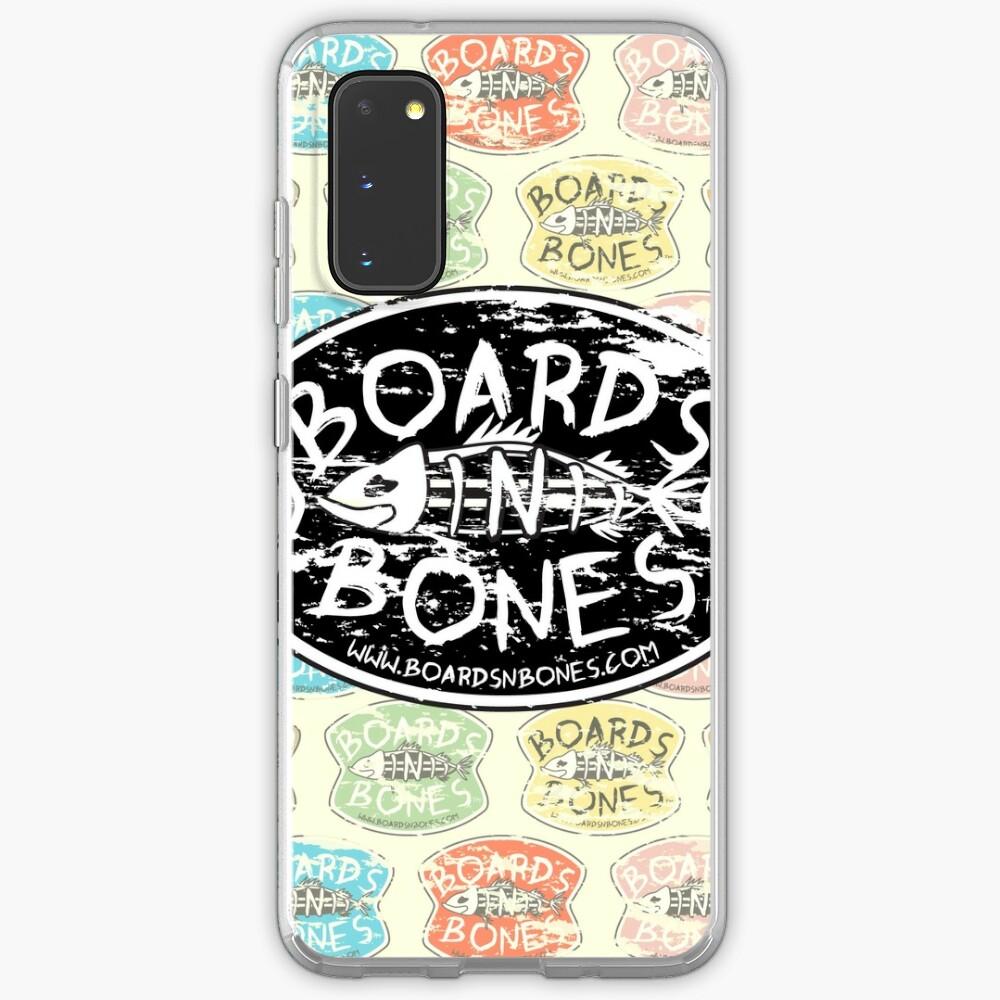 BoardsNBones Distressed Look Logo Phone Case Case & Skin for Samsung Galaxy