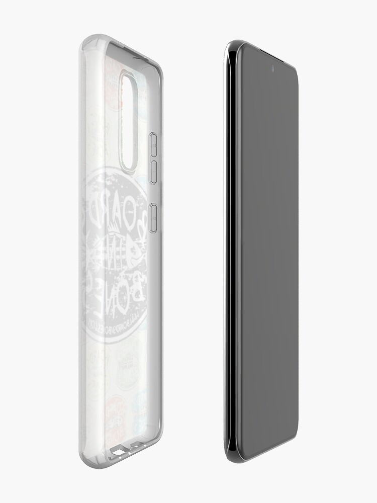 Alternate view of BoardsNBones Distressed Look Logo Phone Case Case & Skin for Samsung Galaxy