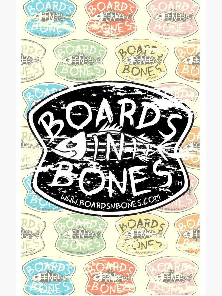 BoardsNBones Distressed Look Logo Phone Case by BoardsNBones