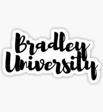 Bradley University Sticker Sticker